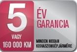 Nissan 5 év garancia