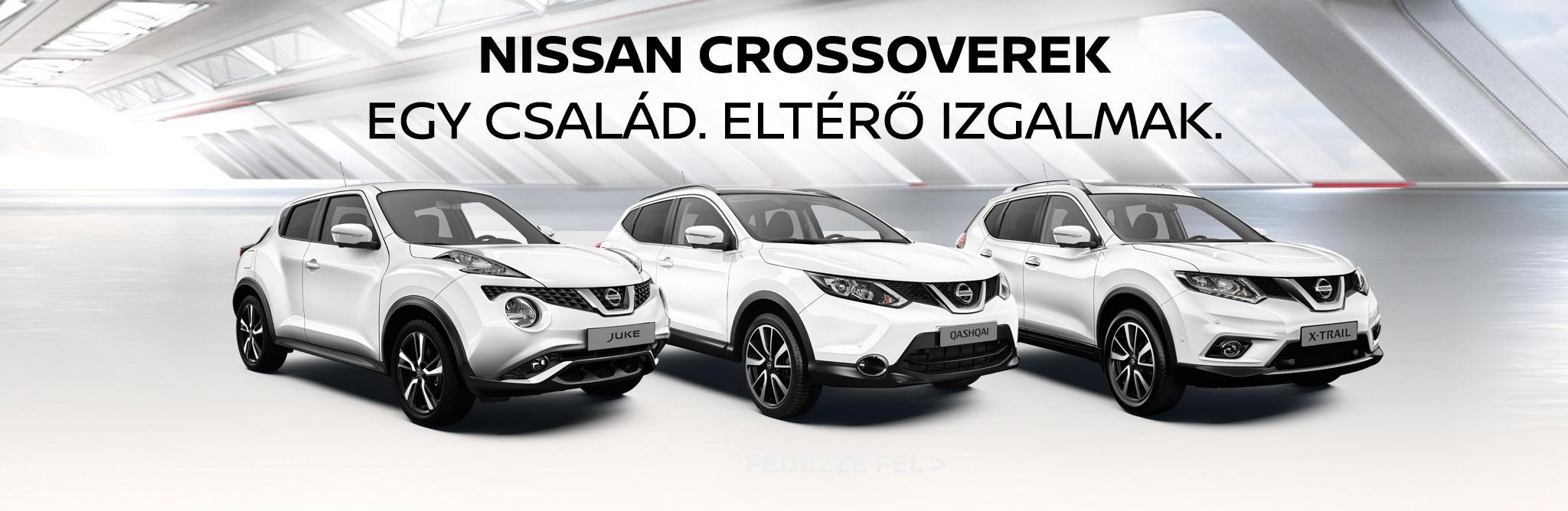 Nissan Crossoverek