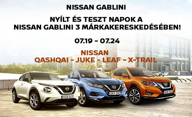 Nissan tesztnapok